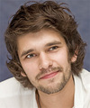 Ben Whishaw - Medium Wavy Hairstyle